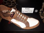 Спортивные туфли, макасины, кроссовки из натуральной кожи, Польша, Conhpol Львів