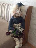 Интерьерная кукла ручной работы Ромни