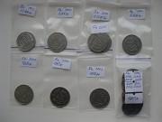 Коллекция монет Украины 1,2,5,10,25 и 50 копеек Ватутіне