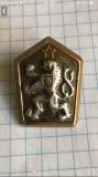 Серебряний значок ЧССР на закрутці Острог