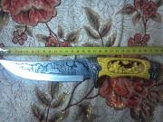 Охотничий нож. Роздільна