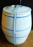 Кухонная посуда: бочёнок керамический, кастрюля эмалированная Бердянськ