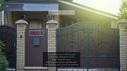 Кованые распашные ворота. Ворота распашные с ковкой Кривий Ріг