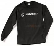 Реглан Boeing Long Slv Signature T-shirt (черный) Київ