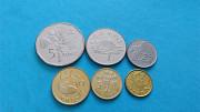 Набор монет Сейшели, 6 шт Вараш