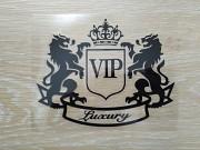 Наклейка на авто VIP Чёрная Тюнинг авто Київ