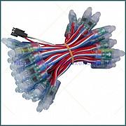 Пиксельные светодиодные модули 5V, WS2811, диаметр12 мм / 50 шт. Ямпіль