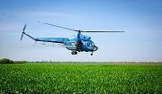 Обробка полів вертольотами Мі-2 Рівне
