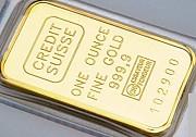 Продадим золото 999,9 пробы в слитках от 100 грамм Одеса