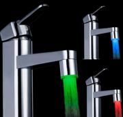 Водосберегающая LED насадка-аэратор на кран - 3 основных + комбинации цветов Київ