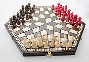 Польские шахматы на троих купить Київ