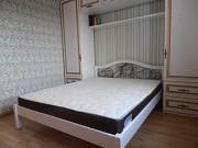 Ліжко двоспальне нове дерево+ковка. 160*200 см. Знижка на матраци Львів
