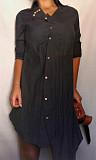 рубашка-туника-платье, 44-46-48р,б\у,Турция Нові Санжари