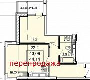 Продам 1-ю комнатную квартиру Педагогическая ул. в ЖК Лимнос Одеса