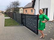 Відкатні ворота в стилі ранчо Ивано-Франковск