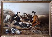 "Картина В.Г.Перова ""Охотники на привале"" Ватутіне"