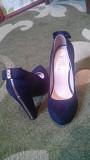 Замшеві туфлі Носівка