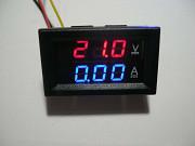 Вольтамперметр цифровой с шунтом DC 0-100V/10A Рівне
