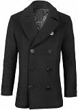 Пальто бушлат Top Gun Men's Wool Military Issue Double Breasted Coat (черное) Львів