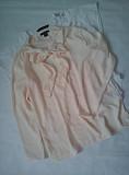Ніжна блуза персикового кольору з бантом AMISU Мала Виска