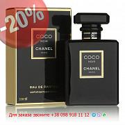 Духи Chanel Coco NOIR Женские Парфюмерия Шанель Ноир Туалетная вода Запоріжжя