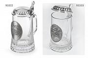 Бокалы для пива фирмы Артина олово, стекло Австрия – Германия опт Київ