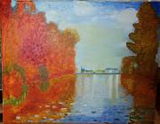 Картина Холст, масло, копия«Осень в Аржантее»Клод МонеClaude Monet1873 Миколаїв
