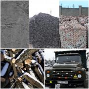 Продаю: Щебінь, пісок, відсів, цеглу, цемент, чорнозем, гній. Послуги Маніпулятора! Луцьк
