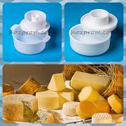 Профессиональная форма с поршнем для твердых сыров 1 кг. и 2 кг. Харків