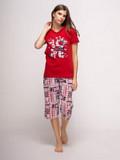 Пижама: футболка и бриджи Fawn. Харків