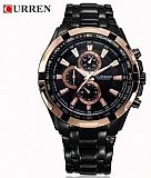 Curren 8023 кварцевые мужские часы со стальным браслетом Київ