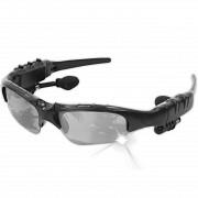 Bluetooth-наушники с микрофоном очки Sunglasses LK-086 Black (1156-6041а) Харків
