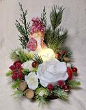 Новогодний рождественский подсвечник декор новорічний різдвяний підсвічник Черкаси