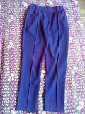 Нові класичні темно сині жіночі штани Луцьк