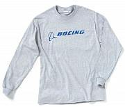 Реглан Boeing Long Slv Signature T-shirt (grey) Київ