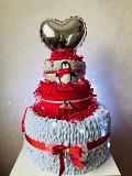 Тортик для новорожденных и малышей из вещей Одеса