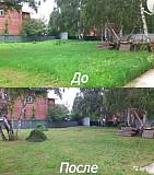 Покос травы мотокасой Мелитополь