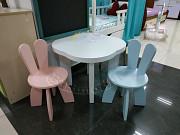 Детский столик и стульчик Зайчики, стол, стул Харків