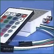 Цветомузыкальный контроллер C-2x200P IR для систем светодиодной подсветки потолка, стен, плинтуса Ямпіль