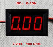 Амперметры цифровые DC 0-10А; 0-20А; 0-50А. Рівне