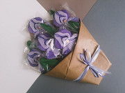 Імбирні пряники. Іриси. Оригінальний букет квітів. Самбор