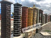 Набірні бетонні стовпи для паркану від виробника Чернівці