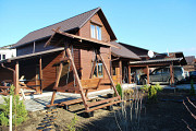 В 300 м. от моря два новых деревянных дома 150 кв.м. и гостевой 75 кв.м. Чорноморськ