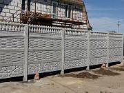 Еврозаборы бетонные наборные декоративные высотой от 0,5 до 2,5 метров в Херсоне и Херсонской област Херсон