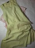 Легенький сукня з льону довжини міді Мала Виска