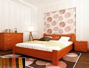 Ліжка з масиву вільхи/дуба 160*200 Червоноград