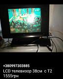 LCD телевизор 38см с Т2 цифровым телевидением Київ