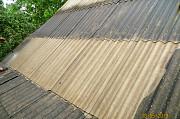 Чистка, фарбування шиферного даху Тульчин