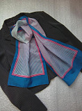 Красивий шарф в смужку Италия Мала Виска