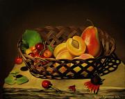 Картина маслом (натюрморт с фруктами ) Івано-Франківськ